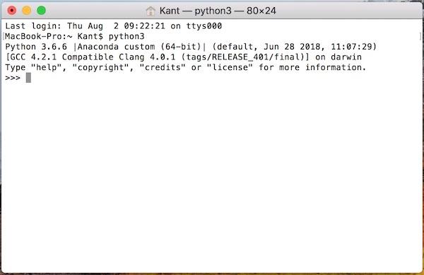 Python学習を始めよう!まずAnacondaをインストール!